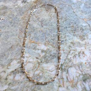 "Vintage Native American Silver 24""  Bowtie Chain"